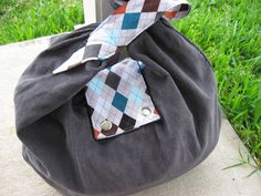 DIY: slouchy bag