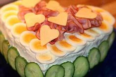 Girl Party Foods, Antipasto, No Bake Cake, Food To Make, Sushi, Food And Drink, Tasty, Healthy Recipes, Snacks