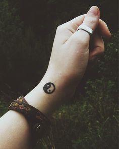 Temporary Tattoo: Yin Yang on Etsy, $0.75