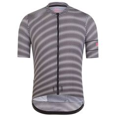 A special edition cycling jersey for training and racing in hot and humid weather, with a design inspired by artist Bridget Riley's use of rhythm and repetition to create optical illusions.