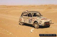 Citroën Diane en 1979 pour le 1er Paris Dakar