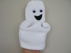 Mini-spookje van washand