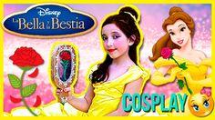 ¡Tutorial MAQUILLAJE de Bella! 😍  COSPLAY La Bella y La Bestia en españo...