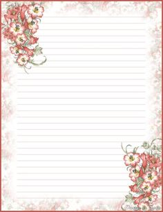Beautiful stationary. | Free Printable Stationary! | Pinterest