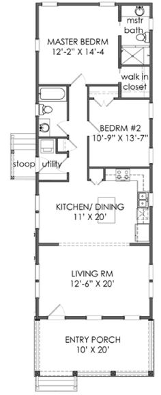 TNH B 08C plan by Moser Design Group