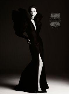 Jennifer Lawrence in Harper's Bazaar