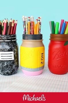 Kid/'s School Supplies Organizer with Interchangeable Block Calendar Pencil Holder DIY Projects Unfinished Wood Natural