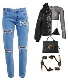 """you don't gotta wait on me"" by mindofmindd ❤ liked on Polyvore featuring T By Alexander Wang, House of Holland, PA5H, McQ by Alexander McQueen, Gucci and Alexander McQueen"