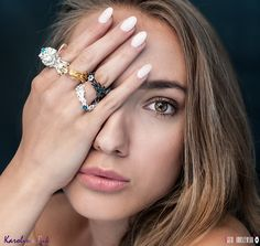 Nest RIngs... Photography: Agata Tomaszewska (agata-photography...) Model: Karolina Jowita Jackiewicz (www.jj-photomodel.pl) Jewellery: Karolina Bik Jewellery Make up: Aleksandra Drzewiecka