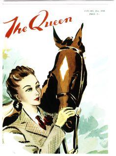 HAPPY BIRTHDAY TO MY EQUESTRIAN QUEEN, HELLE - THE QUEEN - 1945