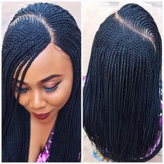"""3,561 Likes, 72 Comments - WeavesNwigs lifetime warranty (@pricelesshairs) on Instagram: """"#braidwig .... 48k...it's still a WIG... NO GLUE...from the #pricelessafricanpride collection"""""""