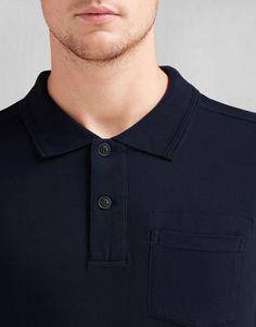 Borman Polo Shirt - Ink Blue Jersey Shirts and Tops
