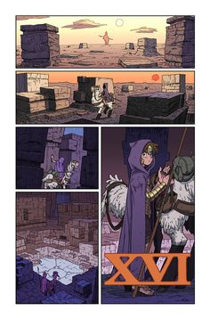 XVI page 01 by synthezoide on deviantART
