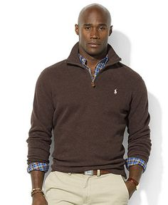 Polo Ralph Lauren Big and Tall Sweater, French Rib Sweater - Mens Big & Tall - Macy's, more Polo at http://everythingforguys.co.uk