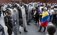 Comincia la quinta settimana di proteste in Venezuela. Senza Chávez, la rivoluzione verso il fallimento #dal #mondo #attualità