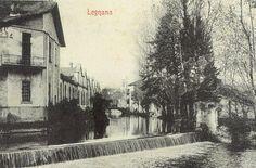 Legnano, Cascata Fiume Olona, 1945