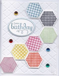 SU Six Sided sampler stamp set, SU perfect punches