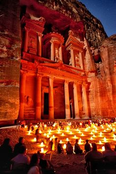 Ancient Ruins of Petra, Jordan.