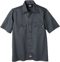 Dickies QS201 Boys' Twill Short Sleeve Shirt « Impulse Clothes