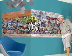 Wall Mural Graffiti  Grafitti Sprayen Graffitti Art Youth