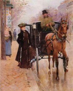 Home, Driver! Jean-Georges Béraud