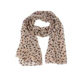 gattoso foulard beige con gattini www.gattosi.com