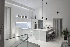 #LED #lighting #downlights #white #bw #kitchen Downlights, Interior Lighting, Led, Kitchen, Table, Furniture, Home Decor, Cooking, Decoration Home