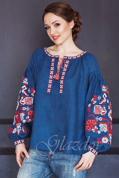 Vyshyvanka, embroidered linen blouse