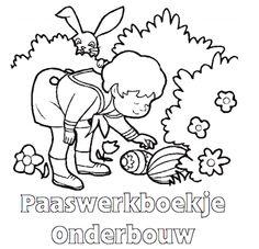 Paaswerkboekje Onderbouw - Klaarwerk.nl