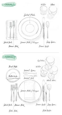 Whether hosting or dining, know your utensils.