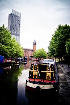 River Canal, Manchester, England