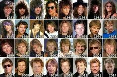 Year by year he looks perfect handsome