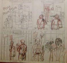 Los lápices de Ángel Muñoz para OBJETIVO HEDY LAMARR son puro talento.  #ObjetivoHedyLamarr Dibujado por Ángel Muñoz, con guion de Ricardo Vilbor y color de Abel Pajares Pardo http://www.grafitoeditorial.com/shop/objetivo-hedy-lamarr/