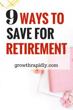 Looking for ways to save for retirement? Saving money in a retirement plan is the smartest ways to save for retirement. Read on to find out more: early retirement, retirement savings, ways to save for Saving For Retirement, Early Retirement, Retirement Planning, Retirement Investment, Retirement Quotes, Retirement Cards, Retirement Savings Plan, Retirement Strategies, Retirement Accounts