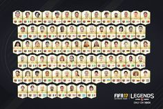 new fut 17 legends included in fifa 17 ultimate team - 28 images - legends fifa new fut 17 legends included in fifa 17 ultimate team, new fut 17 legends included in fifa 17 ultimate team, fifa 16 legends trailer futhead news fifa 17 and, legends fifa 17 Fifa 17 Ultimate Team, Ps4, Games On Youtube, Video Games, Fifa Games, Soccer Cards, Cool Things To Buy, Legends, Arsenal