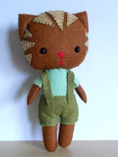 felt kitten - Google Search