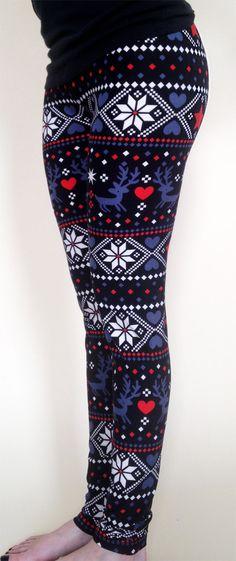 FREE SHIPPING for 2 !! Women leggings, yoga Leggings, printed leggings, Pattern Leggings, Christmas Leggings, aztec leggings, skull leggings