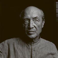 Isamu Noguchi (1904-1988) - prominent Japanese American artist and landscape architect - Photo by Kazumi Kurigami