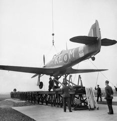 Ww2 Aircraft, Military Aircraft, Royal Navy Aircraft Carriers, Hawker Hurricane, Catapult, Royal Air Force, World War Ii, Wwii, The Unit