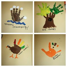 Thanksgiving day hand and foot art Toddler Art Projects, Craft Projects For Kids, Fall Crafts, Kid Crafts, Birthday Traditions, Footprint Art, Room Mom, Hand Art, Infant Activities