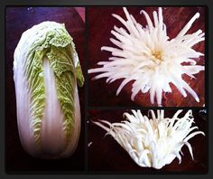 CARVING VEGETABLES AND FRUITS