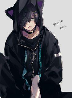- Everything About Manga Anime Demon Boy, Anime Cat Boy, Hot Anime Boy, Cute Anime Guys, Anime Boys, Anime Neko, Kawaii Anime, Chica Anime Manga, Neko Boy