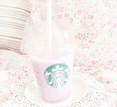 Strawberry Creme Frappe!