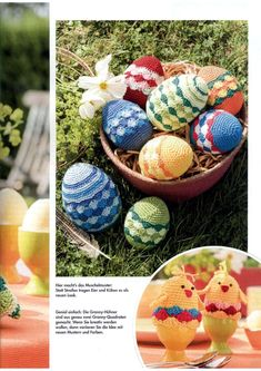 "Photo from album ""Anna - Marz on Yandex. Anna, Easter Eggs, Blog, New Looks, Seashells, Creative, Pattern"