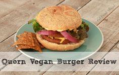 Quorn Vegan Burger Review from @elizabethbruno