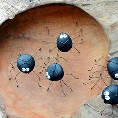 Kieselstein-Spinnen