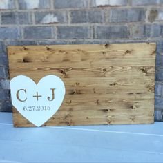 Love!!  Wedding Guest Book Sign by TheLoveLeeHome on Etsy