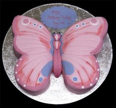 kids cakes | Delicious Butterfly Birthday Cakes For Kids, Butterfly Birthday Cakes ...