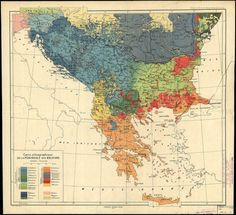 - Ethnographic Map of the Balkans