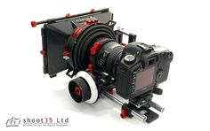 the Shoot35 cinebox and cinefocus package is by far the best value matte box and follow focus on the net. Incredibly well built, looks great and all comes in at just under a thousand, rods, baseplate and all